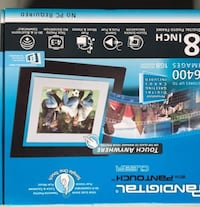 "**New** Pandigital 8"" digital photo frame"