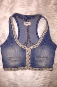 Blue denim vest Missoula, 59803