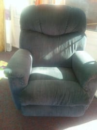 blue  fabric recliner made by lane  Lebanon, 03766