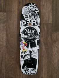 Santa Cruz PBR skateboard cruiser deck