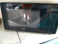black Samsung microwave oven with box Tampa, 33613