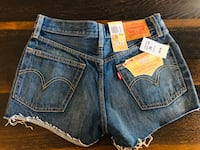 New with tags 501 Levi's shorts Edmonton, T6W 1A5