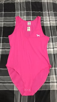 pink and white Adidas tank top Valley Stream, 11580