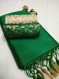green and brown floral textile Coimbatore, 641027