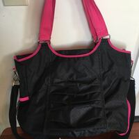 Thirty one black and pink gym bag Winchester, 22602