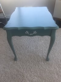 Blue side table or night stand Vancouver, V6B 2W1