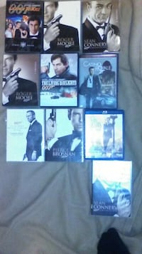 James Bond movie collection Ottawa, 61350