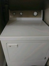 white front-load clothes dryer Durham