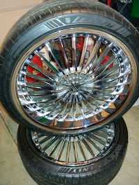 20 inch rims and tires Charlotte, 28206