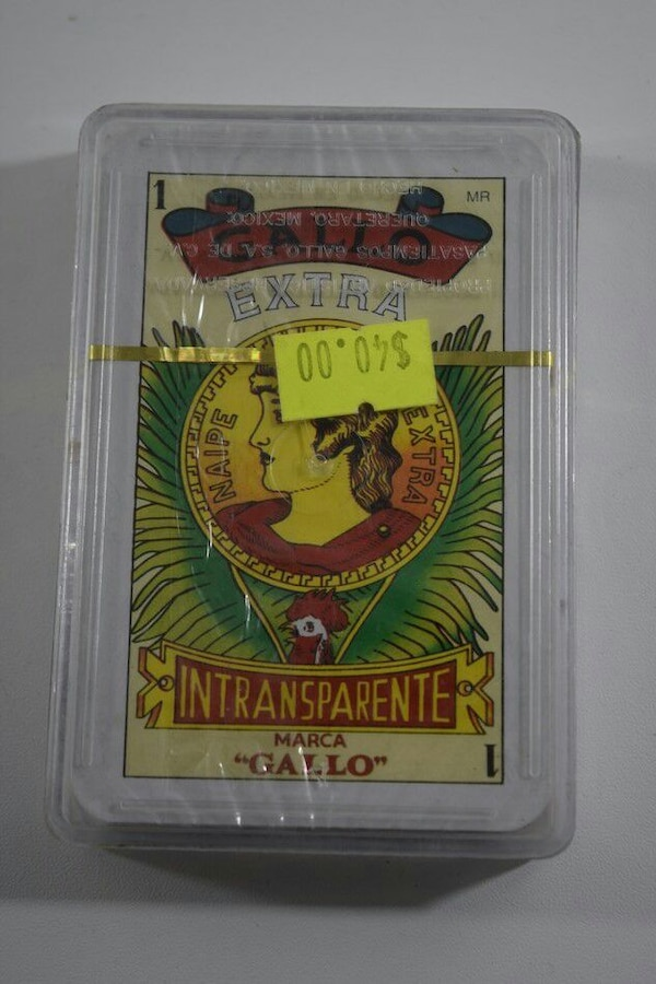 Gallo Extra Intransparente - Mexican Playing Cards
