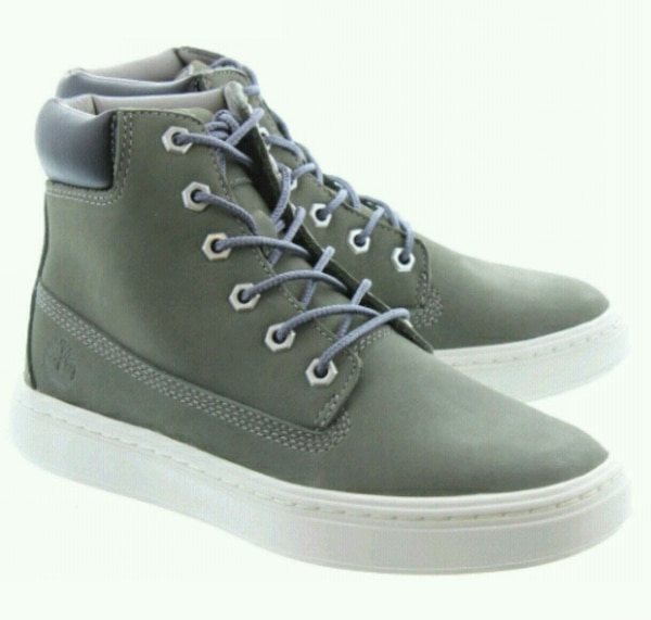 Grey Timberlands $50 OBO