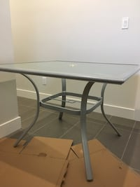 2 Glass tables(like new) New Westminster, V3M 0A3