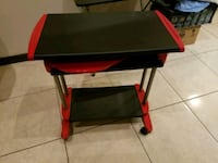black and red wooden table 1488 mi