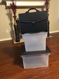 2 FILING CONTAINERS & BRIEFCASE ORGANIZER  Tyler, 75704