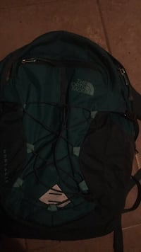 black and gray The North Face backpack Biloxi, 39531