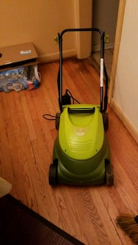 green and black upright vacuum cleaner Washington, 20018