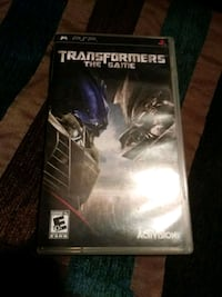 Sony PSP Transformers case National City, 91950