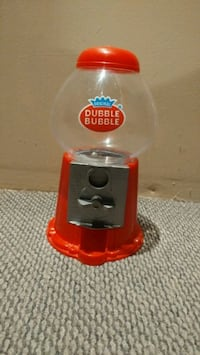 Classic Double Bubble gum machine Burlington