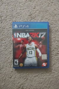 NBA 2k17 PS4 Video Game