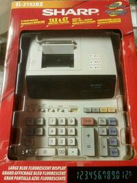 Sharp el-2192rii electronic printing calculator Coquitlam, V3K 1X2