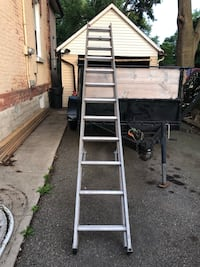 24 Foot Ft Extension Ladder $150 OBO