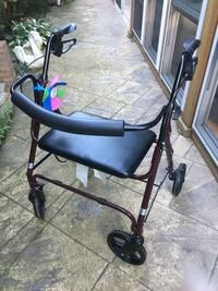 Heavy duty walker for over 300lbs Mississauga, L5J 4H2