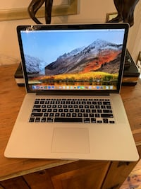 "2013 15"" MacBook Pro Retina 2.7g i7 16gb 512gb 42 mi"