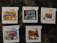 Nintendo 3DS games $20 each Vaughan, ON, Canada