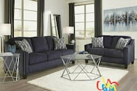Creeal Heights Ink Living Room Set   Houston