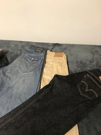 Two black and gray denim jeans Montgomery, 36106