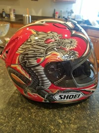 LARGE Shoei helmet 56 km