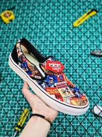 VANS OFF THE WALL DISNEY OLD SCHOOL MICKEY MOUSE S