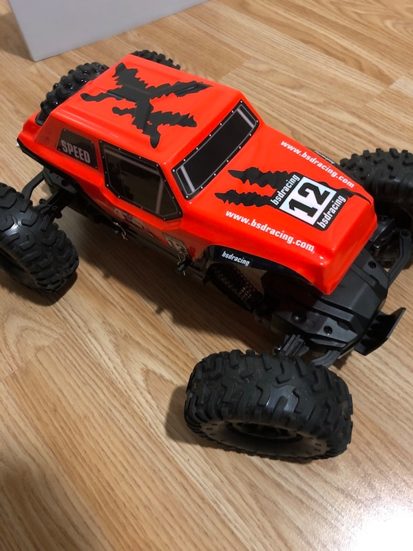 Bsdracing monster truck radiostyrt bil