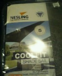 Coolfit shade sail retails for 299.99 Hamilton