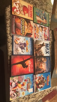 10 assorted movie cases Louisville, 40241
