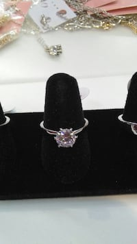 925 Silver Crystal Ring Mississauga