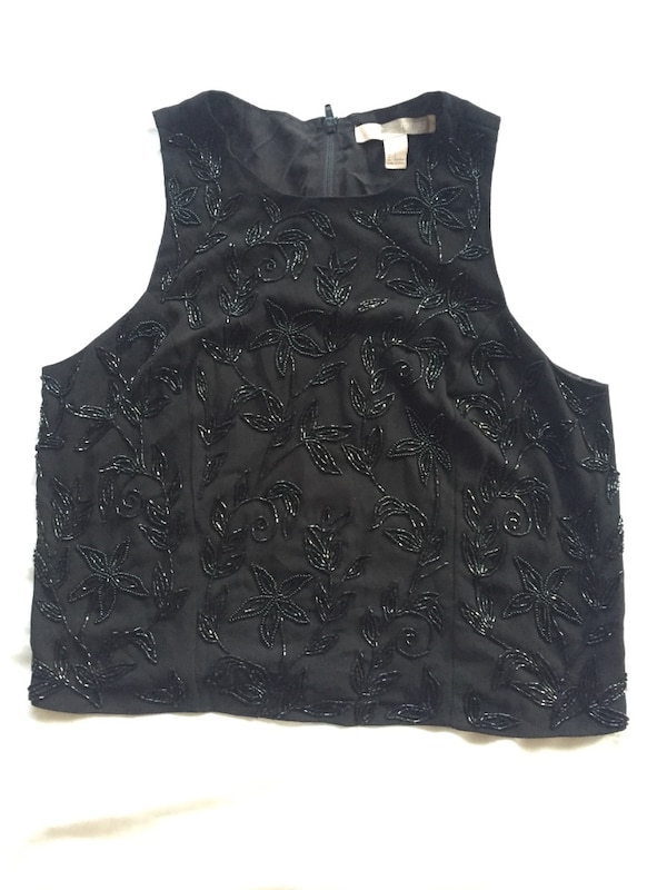 Forever 21 Beaded Top Sz S