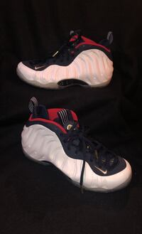 Air Foamposite One Olympic Size 8