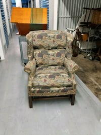 Vintage Wingback Chair Mableton