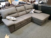 All breathable microfiber sectional Jacksonville, 32246