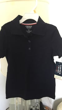 black French Toast polo shirt