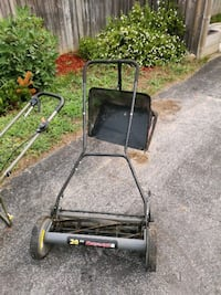 black and red reel mower Barrie, L4M