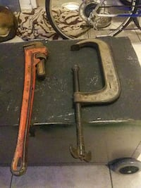 Large tools 10in clamp 24in pipe