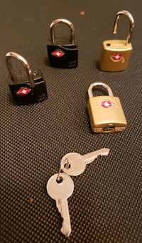 Two sets samsonite luggage lock with 2 keys Centreville, 20120