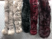 Fur scarves - authentic rabbit fur  Arlington, 22204