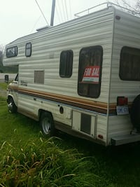 white and red RV trailer Fort Erie, L2A 5M4