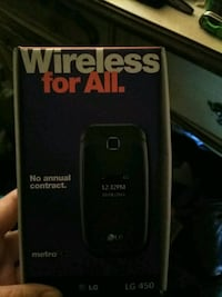 Its a black filp phone not just the box.  Largo, 33771