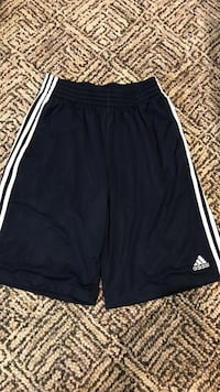 Black/Navy and white Adidas basketball jersey short Mountain View, 94041
