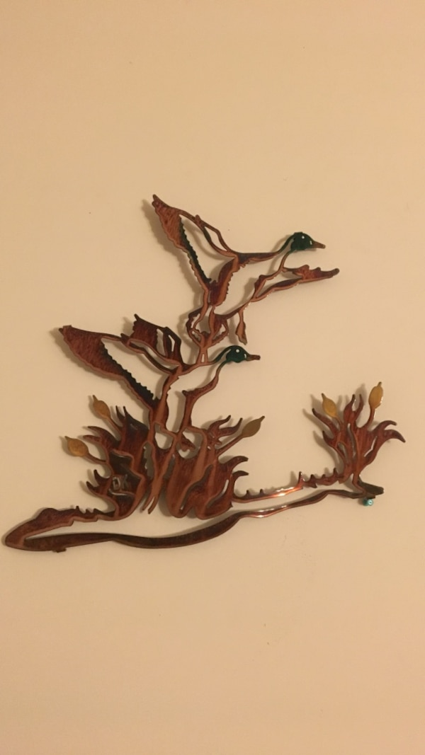 Used two brown duck wall decor for sale in West Hempfield - letgo