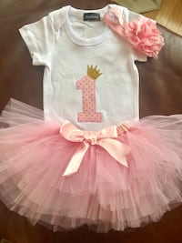 New with tags. 1 year old tutu outfit Bolton, L7E 1C8